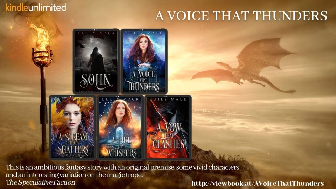 Interview with Cully Mack – Author of A Voice That Thunders